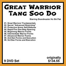The Great Warriors' Tang Soo Do Series with Ho Sik Pak (9 DVD Set)