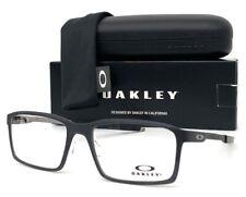 Oakley Steel Line S OX8097-0154 Stain Black / Demo Lens 54mm Eyeglasses