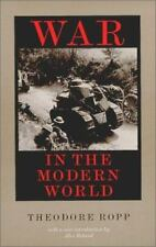 War in the Modern World - Good - Ropp, Theodore - Paperback