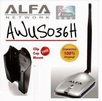 Alfa AWUS036H  Realtek 8187L Original USB Wireless Adapter New Seal in Box