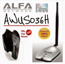 Alfa AWUS036H  Realtek 8187L Original USB Wifi  Adapter New in Box
