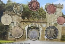 Ireland Coins 2€ To 1 Cent Set Al 8x Complete Heywood Gardens Co. Laios New KMS