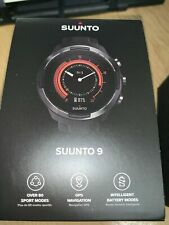 New Suunto 9 Baro GPS Watch BLACK RRP £549