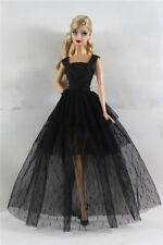 Black Fashion Handmade Princess Dress Clothes Gown for Barbie Doll