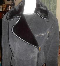 VTG Synergy Womens Soft Leather Motorcycle Style Jacket Size S NWD