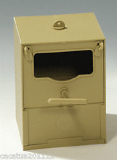 SUPERIOR QUALITY  PLASTIC FINCH NEST BOX - OPEN FRONTED