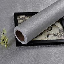 Silver Silk Peel and Stick Wallpaper Embossed Self Adhesive Contact Paper Vinyl