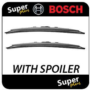 2004-2016 Bosch Superplus Spoiler Front Wiper Blade Set for Honda FR-V