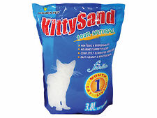 Kitty Sand 1 Month Natural Silica Gel Absorbent Eliminates Odors Cat Litter 3.8L
