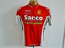 CANNONDALE - SAECO CYCLING JERSEY MENS SIZE L