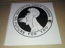Adesivo Ultras Cesena Skiantos Group vinile sticker decalcomanie Merchandising