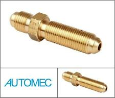 AUTOMEC BULKHEAD INLINE CONNECTOR ADAPTOR MALE 10mm x 1mm Pitch BRASS 3/16 Pipe