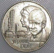 DDR 20 mark 30 años DDR 1979