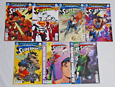 SUPERMAN #13-19 * DC Comic Lot * 7 Comics Rebirth Multiplicity 14 15 16 17 18
