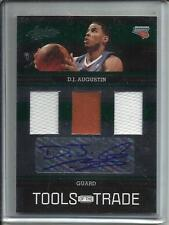 D.J. Augustin 09/10 Absolute Memorabilia Autograph Game Used Jersey #01/10