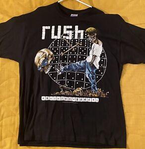 Rush Roll The Bones Pushead Tour shirt Size XL
