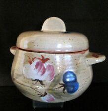 POT en GRES (Pot à Rillettes ?) Céramique Stoneware GUILMET Conneré Sarthe c1950