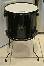 """PDP by DW 805 SERIES 16"""" BLACK ON BLACK FLOOR TOM for YOUR DRUM SET! LOT #Z793"""