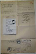WW2- RARISSIMO ANELLO(ORO ALLA PATRIA)CON PERIZIA E DONAZIONE OPERA BALILLA N.4