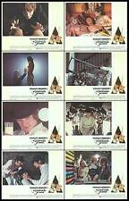 A CLOCKWORK ORANGE orig X-Rated lobby card set MALCOLM MCDOWELL 11x14 posters