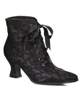 Ellie Shoes Womens Black Ankle Boots Bootie Size 7 LNWOT