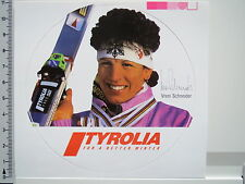 Aufkleber Sticker Tyrolia - Ski - Vreni Schneider - Wintersport - Decal (2450)