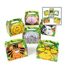 Zoo Animal Treat Gift Boxes Birthday WEDDING Favor SHOWER Loot Pack of 1 Box