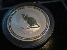 2 oz Silver Rat Mouse Australian Lunar Series I