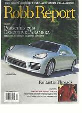Robb Report, September, 2013 (Exklusiv Porsche S 2014 Executive Panamera
