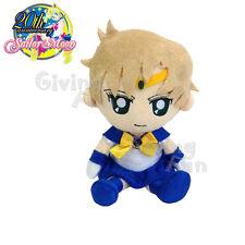"GENUINE BANDAI Sailor Moon 20th Anniversary Sailor Uranus 7.5"" Plush Doll Toy"