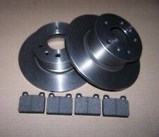 Brake discs & pads front VW Type 2 1973 to 1979