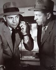 Dragnet (Friday and Alexander) 8x10 B&W Photo