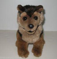 "RCMP Plush Dog Justice German Shepherd 10.5"""