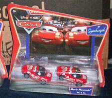 DISNEY PIXAR THE WORLD OF CARS MOVIE MOMENTS MIA & TIA SUPERCHARGED 2 PACKS