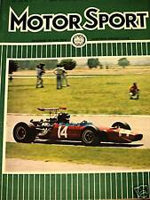 Temporada Argentina 1969 Jochen Rindt San Juan Jorge Cupeiro De Adamich Raro