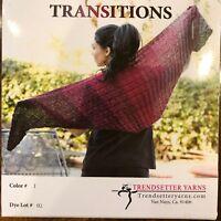 Trendsetter Yarn Transitions Knitting Sweater Scarf Crochet Cotton Acrylic