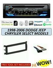 JVC KD-TD91BTS Stereo Kit for Select 1998-2006 DODGE JEEP CHRYSLER Select