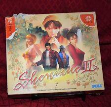 Shenmue II 2 Japan Import Special Edition SE Sega Dreamcast DC Complete CIB
