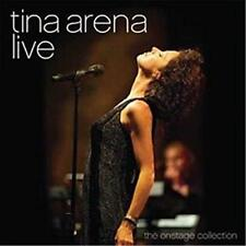 TINA ARENA LIVE-The Onstage Collection CD & DVD REGION 0 PAL NEW