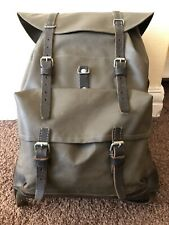 Vintage Swiss Army Waterproof Rucksack