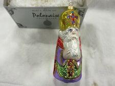 Kurt Adler Komozja Polonaise Ornament Russian Orthodox Priest Bishop Nwot