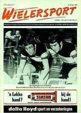 EDDY MERCKX Molteni World Champion Patrick SERCU Team Brooklyn Frisol magazine