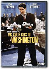 Mr. Smith Goes To Washington DVD New James Stewart Jean Arthur Claude Rains