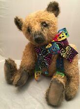 "OOAK 23"" Artist PORTOBELLO BEAR CO./AMY GOODRICH Mohair Bear"