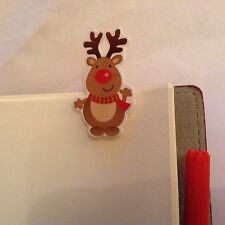 Filofax Pocket size Today Page Marker Insert Christmas Rudolf LIMITED EDITION