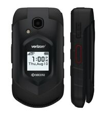 Kyocera DuraXV E4610 - Black - Verizon (Unlocked) 4G LTE Rugged Flip Smartphone