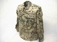 Genuine German Army Issue Desert tropentarn Flecktarn Camo Combat Shirt / Jacket