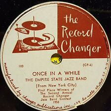 Changer 103 The Empire State Jazz Band Minstrel Walk Once In A While EX 1950