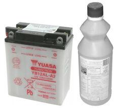 Batteria YUASA yb12al A2, 12 V/12AH con acido per Malaguti Madison 400