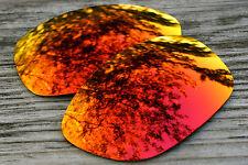 Dark Orange Fire Red Polarized Sunglass Lenses for Oakley Pit Bull - Dark Tint
